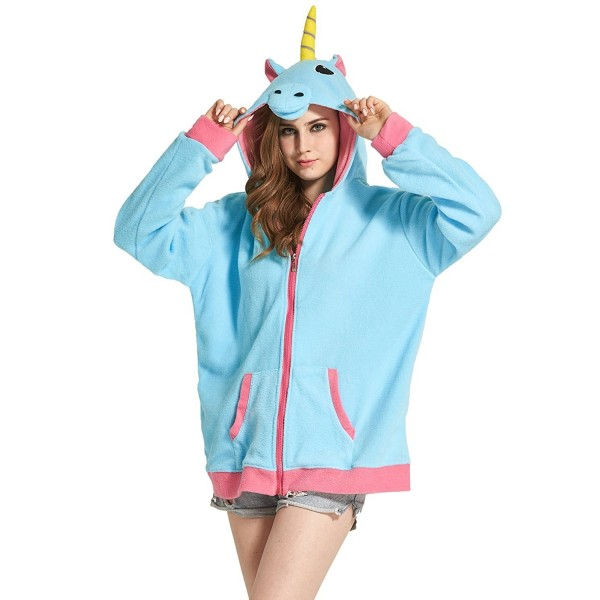 DarkCom Cartoon Unicorn Outerwear Sweatshirt