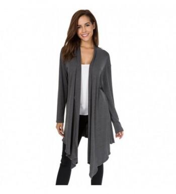 Womens Casual Sleeve Irregular Cardigan
