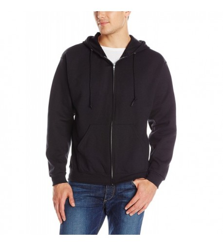 Jerzees Adult Hooded Sweatshirt Black