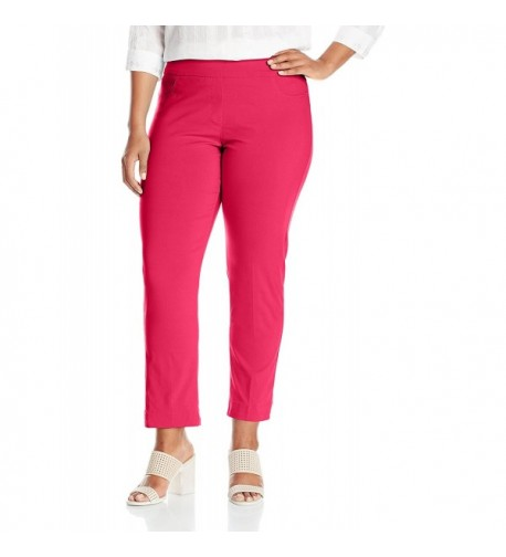 SLIM SATION Womens Ankle Control Cherry