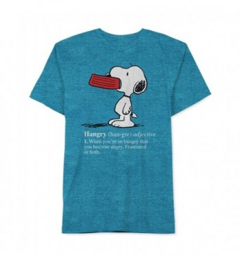 Peanuts Hangry Graphic T Shirt capribrzidrsbl