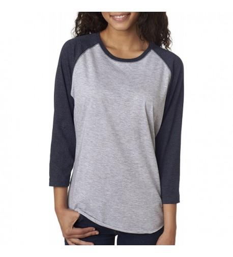 Lat 3530 Ladies Baseball T Shirt