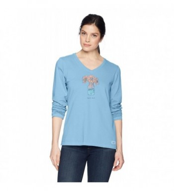 Life Good Womens Crusher longsleeve