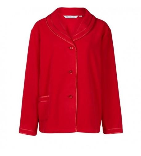 Slenderella Sleeve Fleece Bedjacket BJ6320