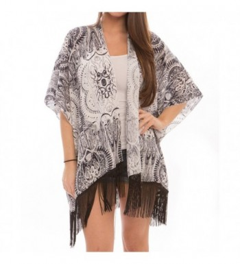 Fashion Swimwear Cover Ups Chiffon Cardigan
