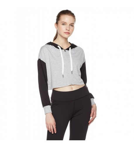7Goals Womens Varsity Cropped Heather