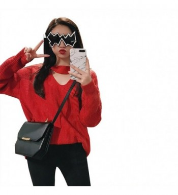 ZIQING Womens Sweaters Pullovers Choker