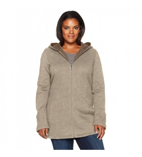 Sebby Collection Womens Hooded Jacket