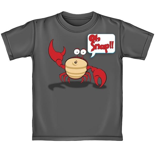 Snap Crab Adult Tee Shirt
