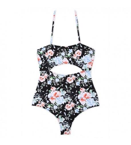 DD MM Floral Swimsuit Bathing
