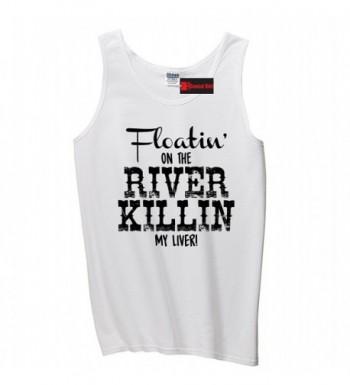 Comical Shirt Floating River Killing