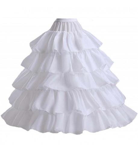 V C Formark Ruffles Petticoat Underskirt Wedding