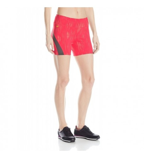 Womens Balance Shorts X Large Rhubarb