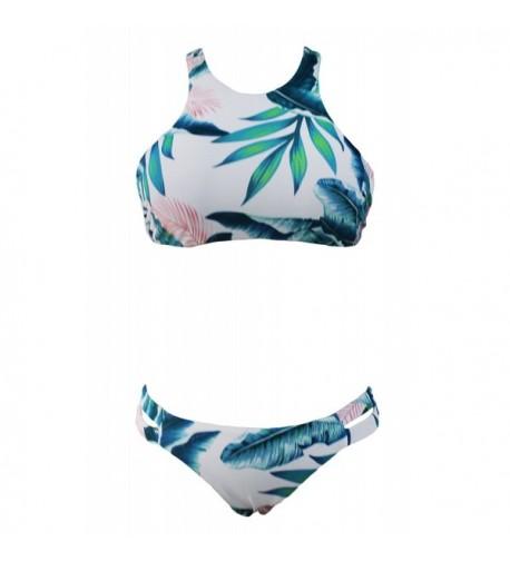 OUR WINGS Tropical Bikini Bathing