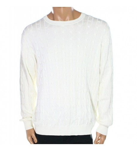 Club Room Cable Pullover Sweater