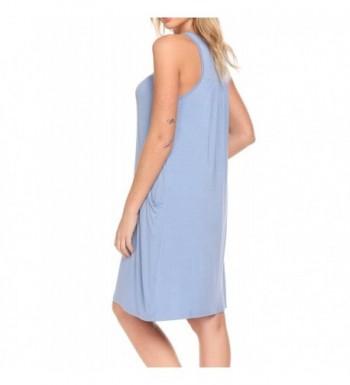 edbe9e2ec4c8c1 HOTOUCH Womens Sleepwear Nightgown Iceblue  Designer Women s Nightgowns  Clearance Sale  Cheap Women s Sleepshirts ...