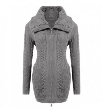 ODlover Womens Sleeve Sweater Turtleneck