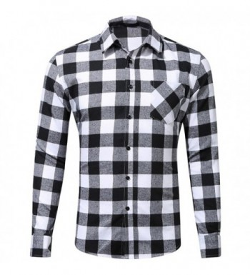 WULFUL Sleeve Regular Button Flannel