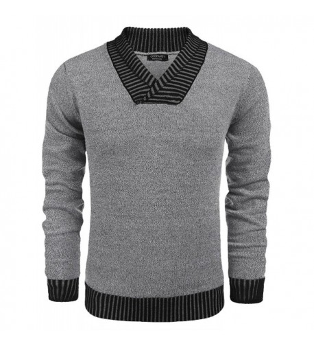 Jinidu Casual Ribbed Pullover Sweaters