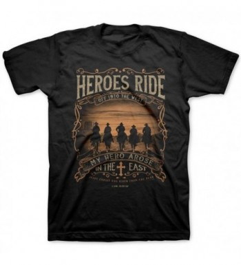 Heroes Ride Adult T Shirts Christian