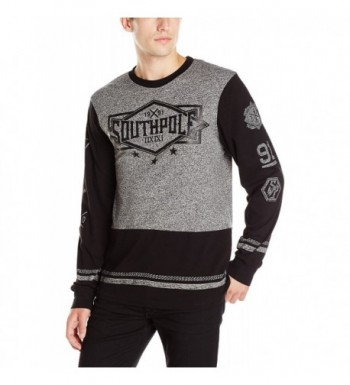 Southpole Sleeve Marled Color Medium