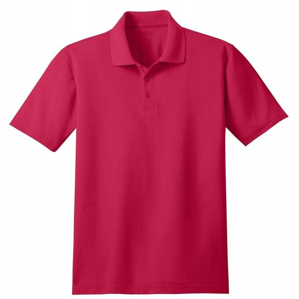 Joes USA Moisture Resistant Polo Red 4XLT