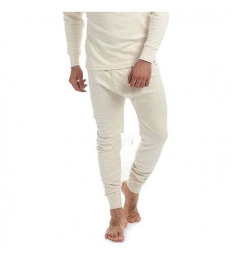 Thermal Cotton Johns Underwear Cream