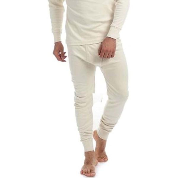 Thermal Cotton Johns Underwear Cream