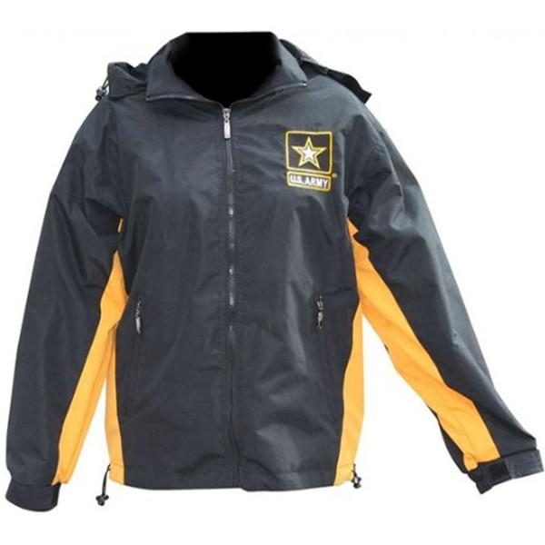 Mitchell Proffitt Windbreaker Jacket Black