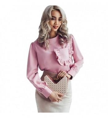 Toplook Womens Sleeve Blouse Pocket