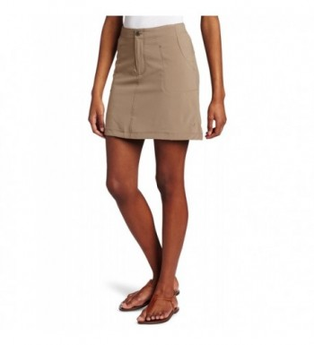 White Sierra Womens Trail Skort