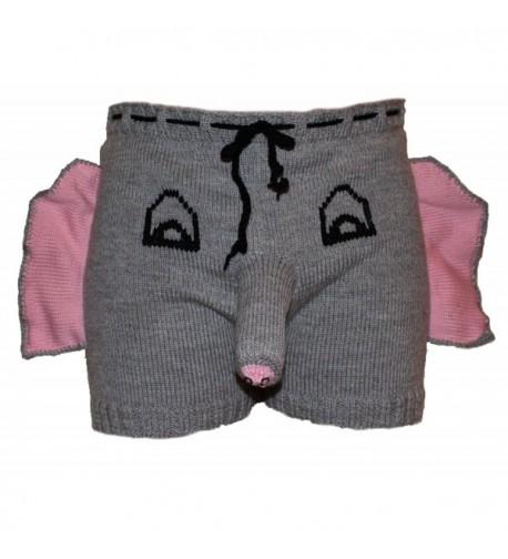 MySexyShorts Elephant Underwear Boxers Shorts