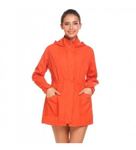 Beyove Waterproof Lightweight Windbreaker Raincoat