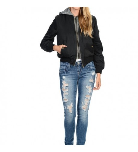 YourStyle Quilted Bomber Jacket Padded