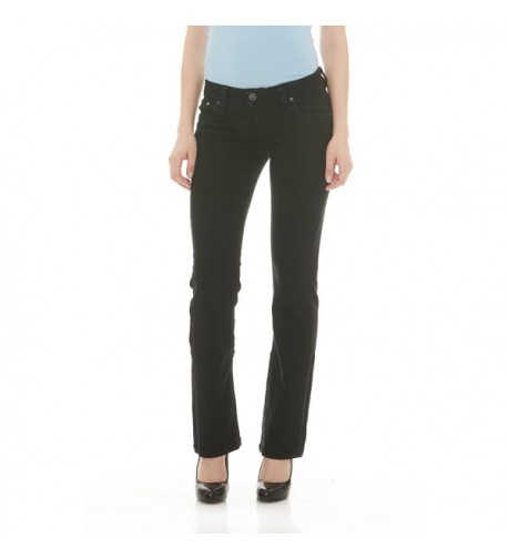 956af13590a Women s Aura Instantly Slimming Mid Rise Boot Cut Jean - Mid Wash ...