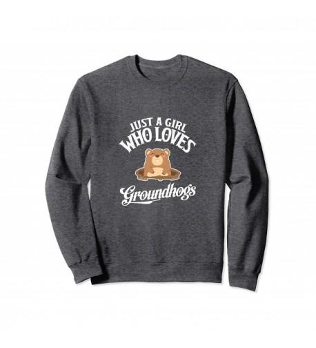 Groundhogs Groundhog Crewneck Sweater Heather