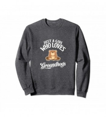 Groundhogs Groundhog Crewneck Sweater Heather