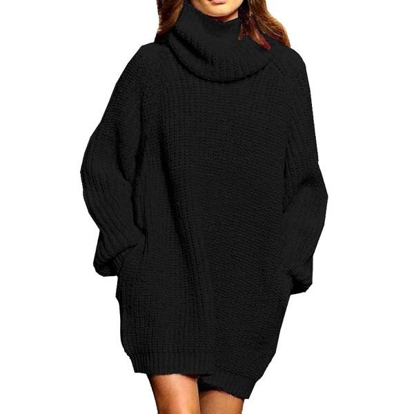 Turtleneck dress oversized plus size sweater womens online stores