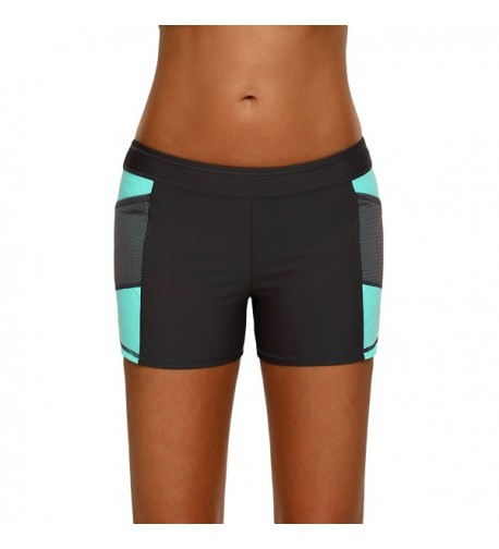 Jersri Shorts Elastic Sports Bottoms