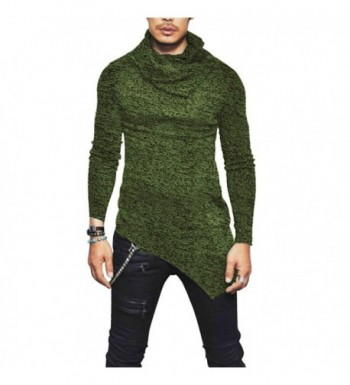 JXEWW T Shirts Turtleneck Asymmetric Snowflake