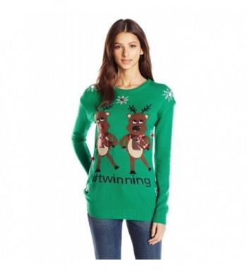 Allison Brittney Twinning Reindeers Snowflakes