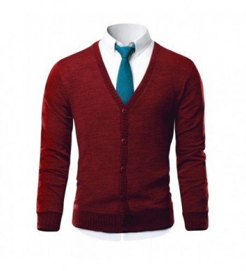 Fashion Men's Cardigan Sweaters for Sale