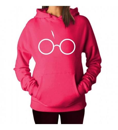 Glasses Lightning Sweater X Large Fuschia