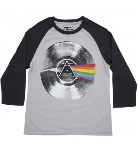 Pink Floyd Dark Raglan Black
