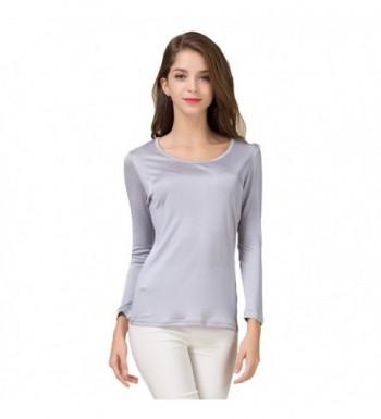 Fabric Silk Sleeve T shirt Chemises