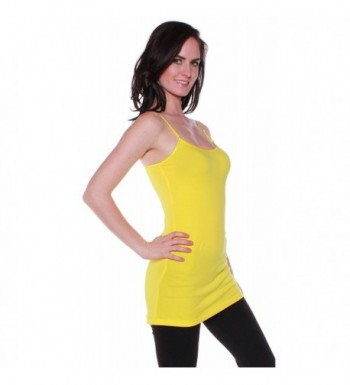 Active Womens Casual Camisole Yellow