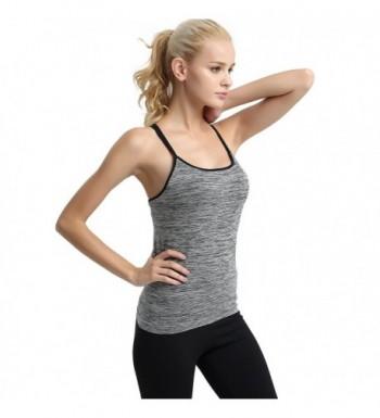 7996dedd9d22e1 YTUIEKY Womens Workout Sleeveless Camisole  Brand Original Women s Tanks  Outlet  Designer Women s Camis ...