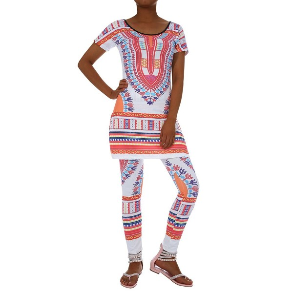 Inorin Outfits African Geometric Leggings