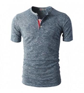 Discount Men's Henley Shirts Online