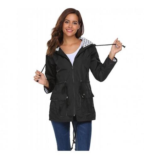 Soteer Waterproof Lightweight Outdoor Raincoat